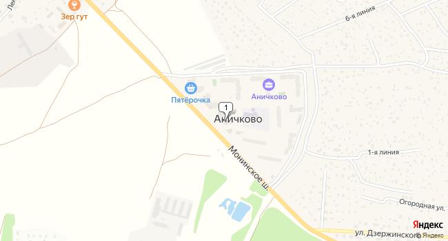 Арендовать торговую площадь 130 м<sup>2</sup> в посёлке Аничково по адресу Россия, Московская область, Щелковский район, поселок Аничково, 3