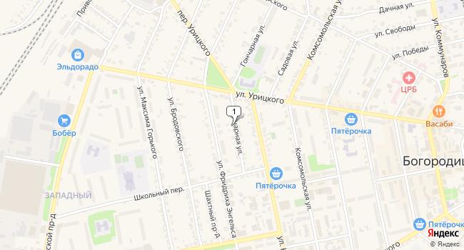 Арендовать офис 76 м<sup>2</sup> в г. Боицк по адресу Россия, Тульская область, Богородицк, Гончарная улица, 7А