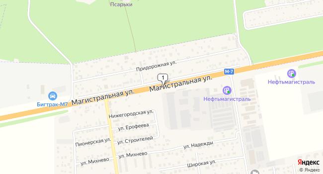 Арендовать склад 3500 м<sup>2</sup> в Старой Купавне по адресу Россия, Московская область, Ногинский район, Старая Купавна, Горьковское шоссе