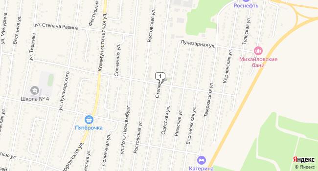 Арендовать офис 46 м<sup>2</sup> в Абинске по адресу Россия, Краснодарский край, Абинск, Степная улица