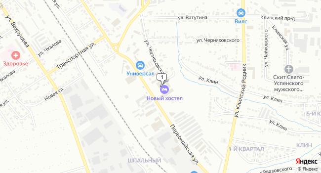 Арендовать торговую площадь 110 м<sup>2</sup> в Новомосковске по адресу Россия, Тульская область, Новомосковск, Первомайская улица, 77