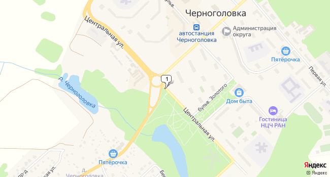 Арендовать склад 7000 м<sup>2</sup> в Черноголовке по адресу Россия, Московская область, Черноголовка, Центральная улица