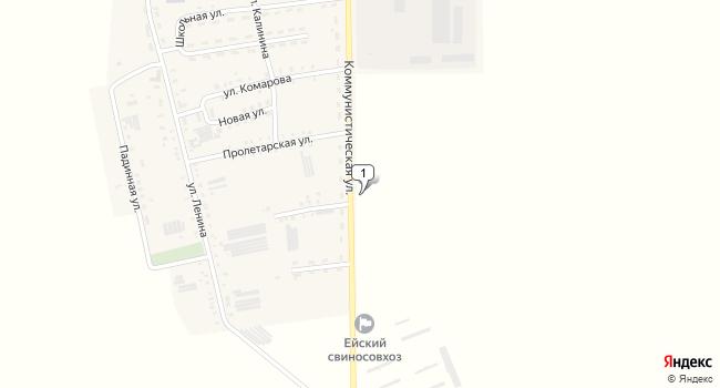 Арендовать коммерческую недвижимость 13363 м<sup>2</sup> в Ейске по адресу Россия, Краснодарский край, Ейский район, поселок Степной, Коммунистическая улица