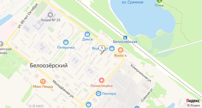Арендовать офис 140 м<sup>2</sup> в посёлке ского типа Белоозёрский по адресу Россия, Московская область, Воскресенский район, поселок городского типа Белоозёрский, Молодежная улица, 13