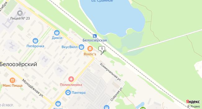 Арендовать торговую площадь 60 м<sup>2</sup> в посёлке ского типа Белоозёрский по адресу Россия, Московская область, Воскресенский район, поселок городского типа Белоозёрский, Молодежная улица, 1Г