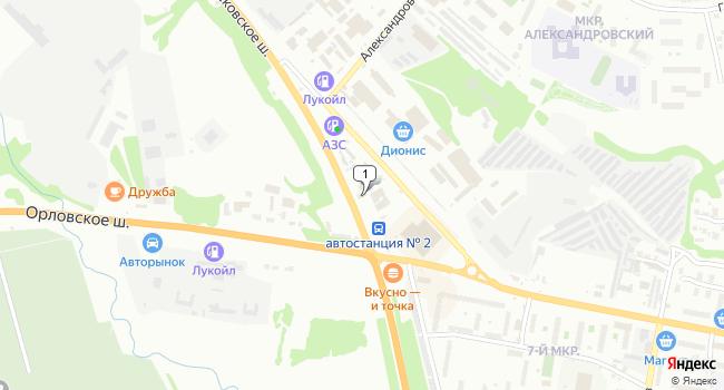 Арендовать торговую площадь 500 м<sup>2</sup> в Ельце по адресу Россия, Липецкая область, Елец, Московское шоссе, 5А