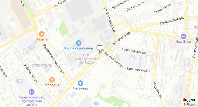 Купить склад 61641 м<sup>2</sup> в Ельце по адресу Россия, Липецкая область, Елец, улица им. Генерала Костенко, 42