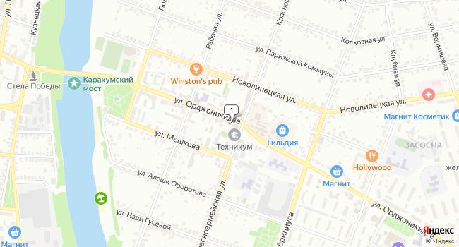 Купить производственное помещение 4117 м<sup>2</sup> в Ельце по адресу Россия, Липецкая область, Елец, улица Орджоникидзе, 31