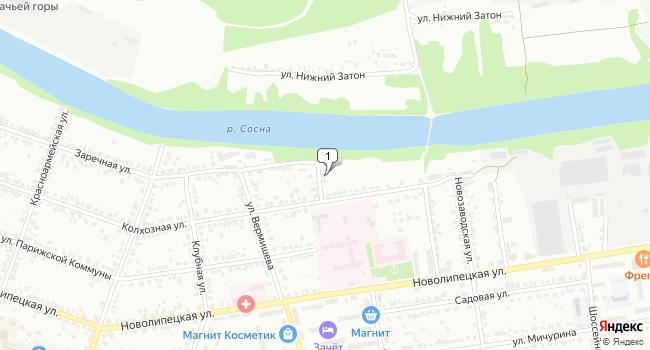 Арендовать офис 1500 м<sup>2</sup> в Ельце по адресу Россия, Липецкая область, Елец, Заводская улица, 2
