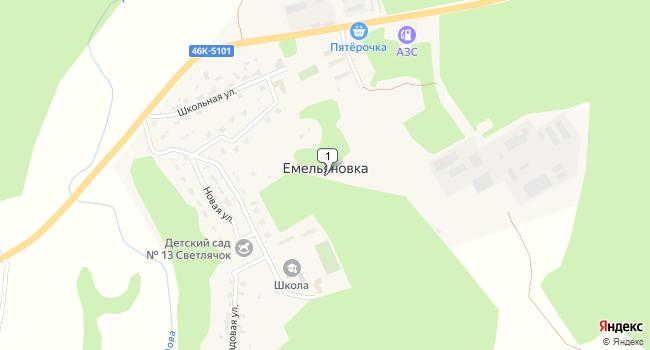 Арендовать офис 970 м<sup>2</sup> в Озёрах по адресу Россия, Московская область, городской округ Озёры, деревня Емельяновка