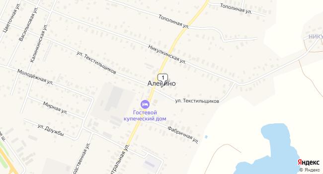 Купить земельный участок 348500 м<sup>2</sup> в Киржаче по адресу Россия, Владимирская область, Киржачский район, деревня Аленино