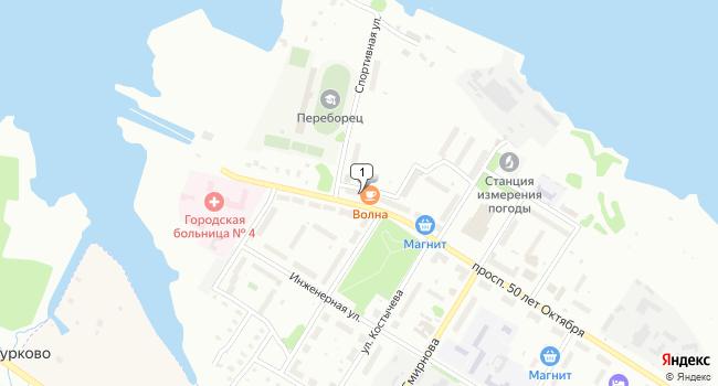 Арендовать склад 72 м<sup>2</sup> в Можайске по адресу Россия, Ярославская область, Рыбинск, проспект 50 лет Октября, 1