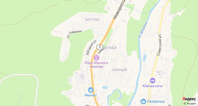 Купить торговую площадь 437 м<sup>2</sup> в г. посёлок ского типа Джубга по адресу Россия, Краснодарский край, Туапсинский район, поселок городского типа Джубга, Новороссийское шоссе, 88