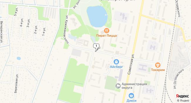 Арендовать офис 15 м<sup>2</sup> в Электрогорске по адресу Россия, Московская область, Электрогорск, улица Кржижановского