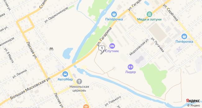 Купить производственное помещение 770 м<sup>2</sup> в Киржаче по адресу Россия, Владимирская область, Киржач, улица Гагарина, 6