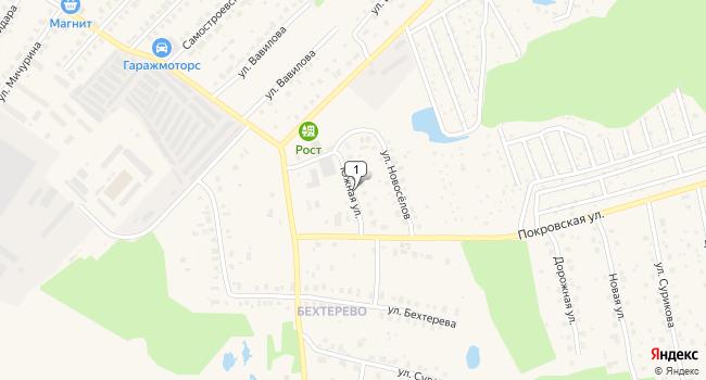 Арендовать склад 400 м<sup>2</sup> в Киржаче по адресу Россия, Владимирская область, Киржач, Южная улица