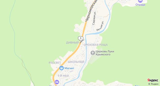 Купить земельный участок 1100 м<sup>2</sup> в Туапсе по адресу Россия, Краснодарский край, Туапсинский район, село Ольгинка, Черноморская улица