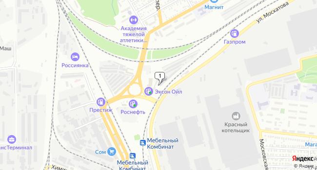 Арендовать склад 40 м<sup>2</sup> в Таганроге по адресу Россия, Ростовская область, Таганрог, площадь Марцевский Треугольник, 1