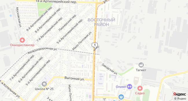 Арендовать офис 14 м<sup>2</sup> в Таганроге по адресу Россия, Ростовская область, Таганрог, улица Дзержинского