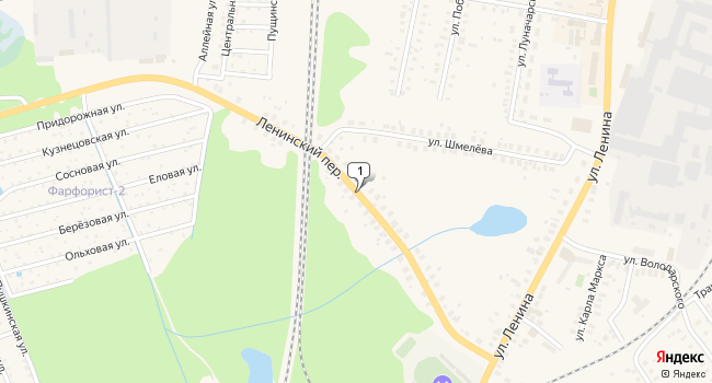 Арендовать торговую площадь 286 м<sup>2</sup> в Ликино-Дулёво по адресу Россия, Московская область, Орехово-Зуевский район, Ликино-Дулёво, Ленинский проезд