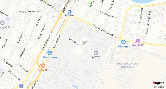 Арендовать торговую площадь 150 м<sup>2</sup> в Майкопе по адресу Россия, Республика Адыгея, Тахтамукайский район, поселок городского типа Яблоновский, улица Связи, 9