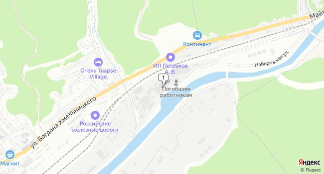 Арендовать склад 220 м<sup>2</sup> в Туапсе по адресу Россия, Краснодарский край, Туапсе, Набережная улица, 17а