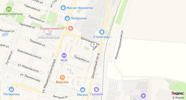 Купить производственное помещение 519 м<sup>2</sup> в Лебедяне по адресу Россия, Липецкая область, Лебедянь, Шоссейный проезд, 1