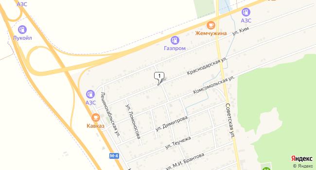 Купить земельный участок 120000 м<sup>2</sup> в Адыгейске по адресу Россия, Республика Адыгея, Адыгейск, Краснодарская улица