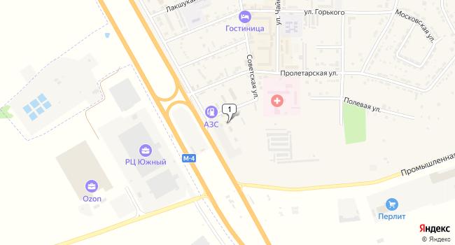 Купить коммерческую недвижимость 10000 м<sup>2</sup> в Адыгейске по адресу Россия, Республика Адыгея, Адыгейск, Коммунистическая улица, 1