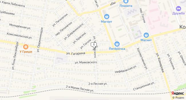 Купить коммерческую недвижимость 300 м<sup>2</sup> в Кольчугино по адресу Россия, Владимирская область, Кольчугино, улица Гагарина, 28