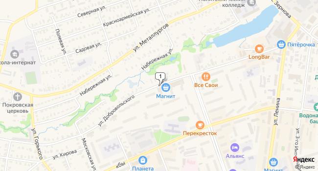 Купить офис 470 м<sup>2</sup> в Кольчугино по адресу Россия, Владимирская область, Кольчугино, улица Добровольского
