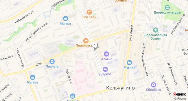 Купить офис 35 м<sup>2</sup> в Кольчугино по адресу Россия, Владимирская область, Кольчугино, улица 50 лет Октября