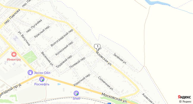 Купить коммерческую недвижимость 6500 м<sup>2</sup> в Азове по адресу Россия, Ростовская область, Азов, Азовская улица