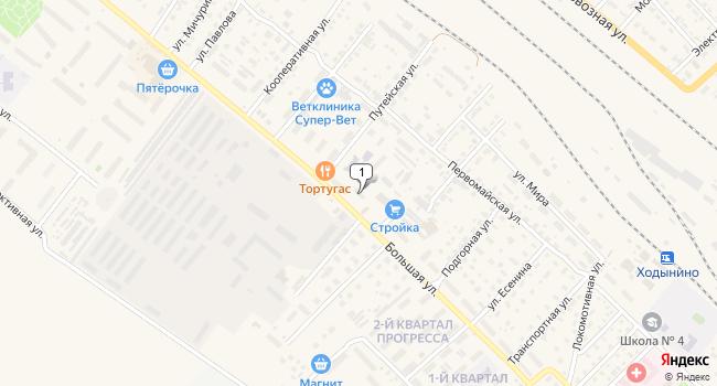Купить торговую площадь 57 м<sup>2</sup> в Рыбном по адресу Россия, Рязанская область, Рыбное, Большая улица, 55