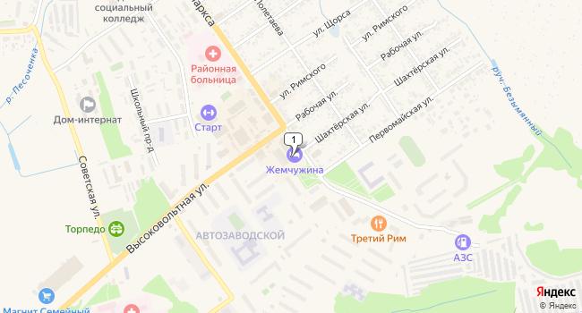 Арендовать торговую площадь 700 м<sup>2</sup> в Скопине по адресу Россия, Рязанская область, Скопин, микрорайон АЗМР, 14В