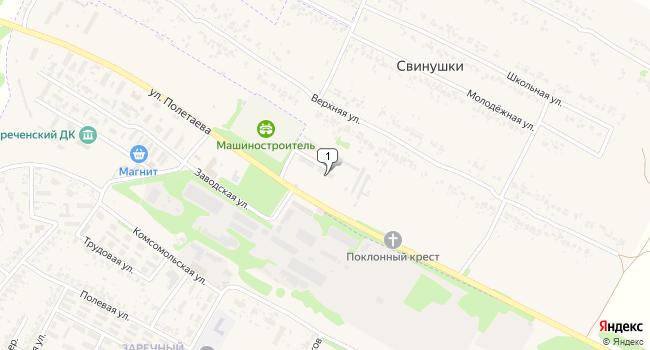 Купить коммерческую недвижимость 12000 м<sup>2</sup> в Скопине по адресу Россия, Рязанская область, Скопин, Заводская улица, 2