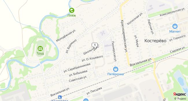 Купить производственное помещение 320 м<sup>2</sup> в г. Костерёво по адресу Россия, Владимирская область, Петушинский район, Костерёво
