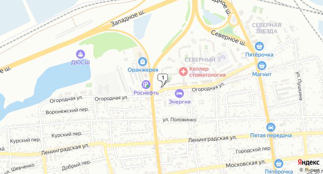 Арендовать офис 280.5 м<sup>2</sup> в Батайске по адресу Россия, Ростовская область, Батайск, Северный массив, 8