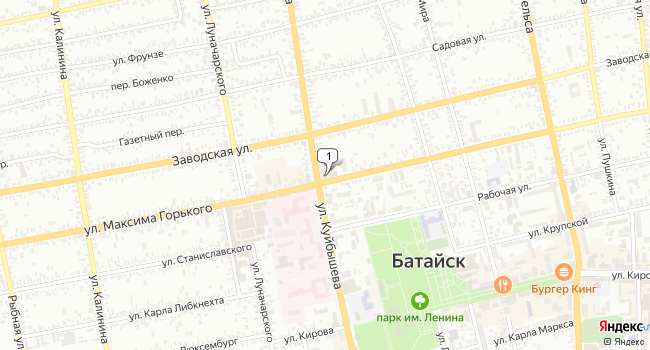 Арендовать торговую площадь 141 м<sup>2</sup> в Батайске по адресу Россия, Ростовская область, Батайск, улица Куйбышева, 143/152