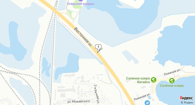 Арендовать склад 650 м<sup>2</sup> в Батайске по адресу Россия, Ростовская область, А-135