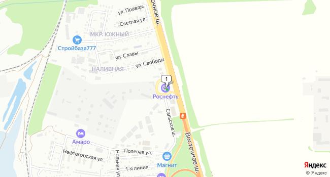 Арендовать склад 1000 м<sup>2</sup> в Батайске по адресу Россия, Ростовская область, Батайск, Сальское шоссе, 1