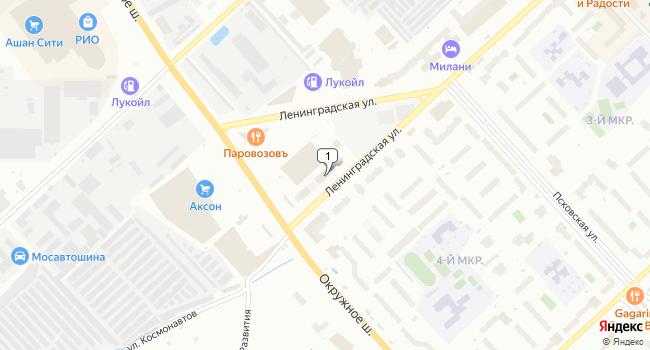 Арендовать офис 9 м<sup>2</sup> в Вологде по адресу Россия, Вологда, Ленинградская улица, 97