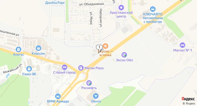 Арендовать склад 1500 м<sup>2</sup> в Аксае по адресу Россия, Ростовская область, Аксай, Аксайский проспект, 7