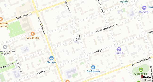 Арендовать офис 40 м<sup>2</sup> в Северодвинске по адресу Россия, Архангельская область, Северодвинск, Индустриальная улица, 39
