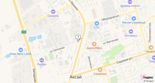 Арендовать офис 54 м<sup>2</sup> в Аксае по адресу Россия, Ростовская область, Аксай, улица Шолохова, 9
