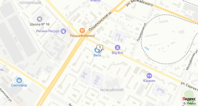 Арендовать торговую площадь 32 м<sup>2</sup> в Вологде по адресу Россия, Вологда, улица Сергея Преминина, 2