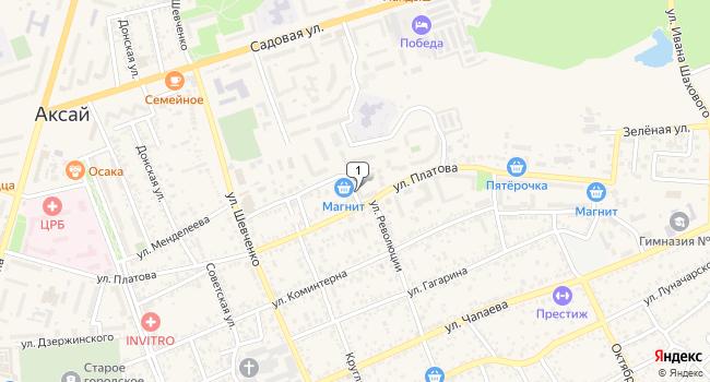 Арендовать торговую площадь 61 м<sup>2</sup> в Аксае по адресу Россия, Ростовская область, Аксай, улица Платова, 83