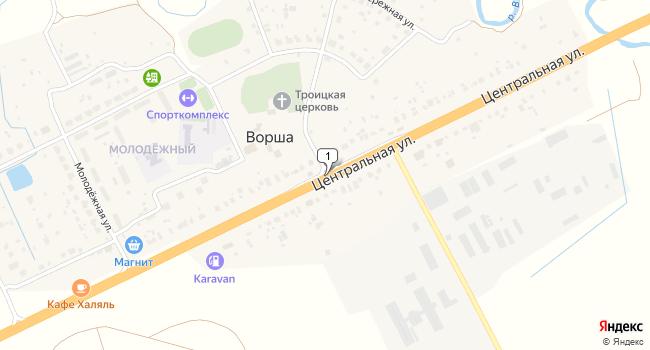 Купить отдельное здание 575 м<sup>2</sup> в Собинке по адресу Россия, Владимирская область, Собинский район, село Ворша, Центральная улица
