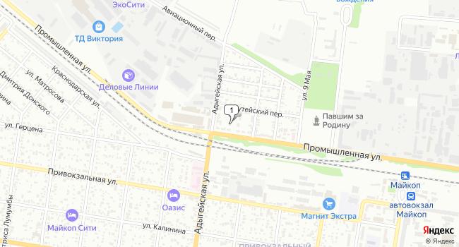 Купить коммерческую недвижимость 12634 м<sup>2</sup> в Майкопе по адресу Россия, Республика Адыгея, Майкоп, Промышленная улица, 50В