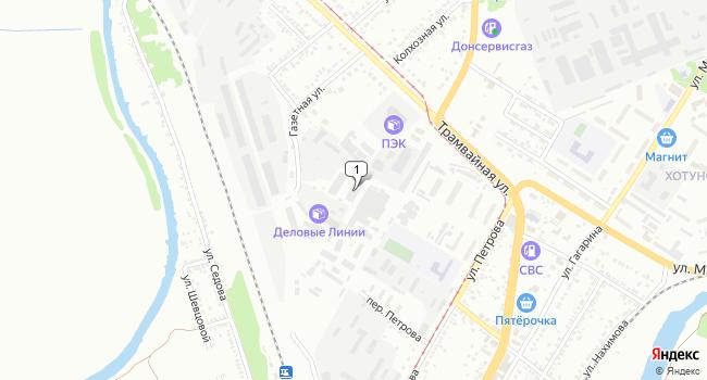 Арендовать склад 1690 м<sup>2</sup> в Новочеркасске по адресу Россия, Ростовская область, Новочеркасск, Трамвайная улица, 3Д
